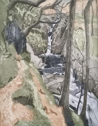Anne Aspinall, Falls - Cwm Nantcol