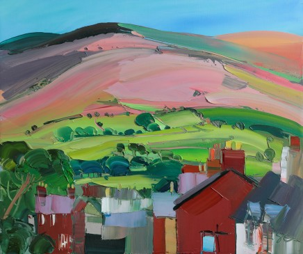 Sarah Carvell, Looking Down Vale Street