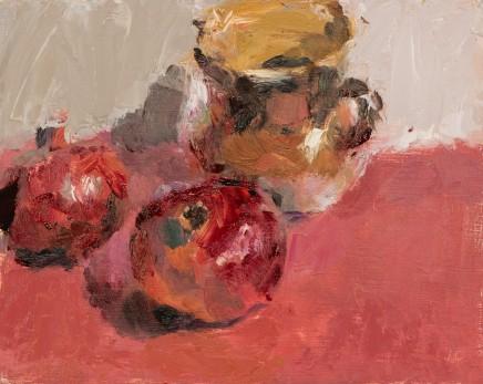 Lynne Cartlidge, Pomegranates and Earthenware Jug