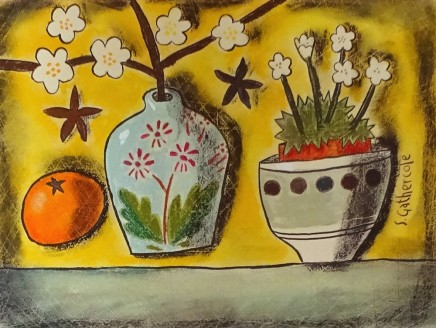 Susan Gathercole, Little French Jar and Tangerine