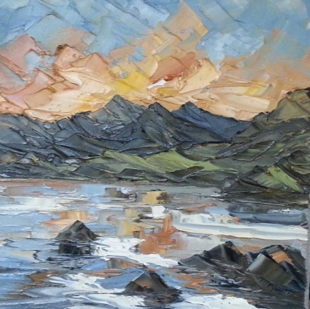 Martin Llewellyn, Sunset, North Wales