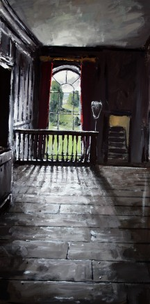 Matthew Wood, Erddig Hall. Upper Staircase Landing