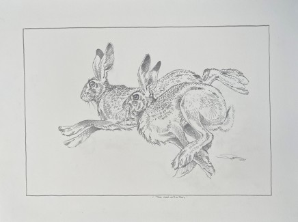 Colin See-Paynton, Two Hares on the Run