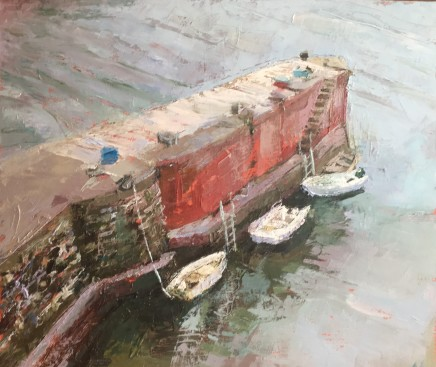 Anne Aspinall, Moored on the Harbour, Porthgain