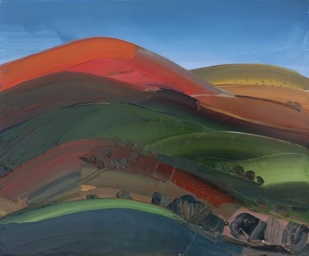 Sarah Carvell, The Clwydians Catching the last of the Sun