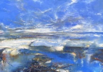 Iwan Gwyn Parry, The Flood Plain at Aberdyfi