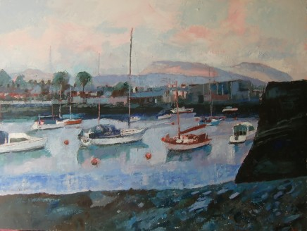 Anne Aspinall, Porthmadog, Mountains and Quay