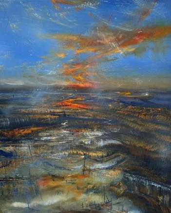 Iwan Gwyn Parry, Cymyran Bay Anglesey at Sunset