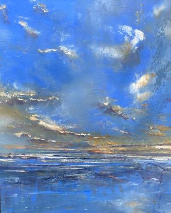 Iwan Gwyn Parry, The Dublin Bray Sunset towards Bray