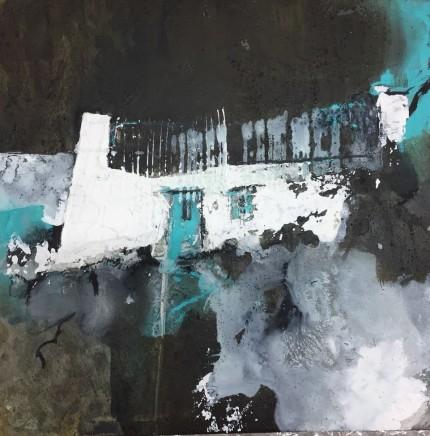 Pete Monaghan, Blue Cottage I (Distant Dark)