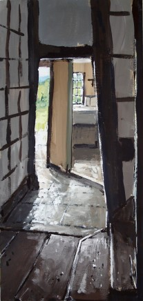 Matthew Wood, Cwmmau Farmhouse - Passage to the Pantry