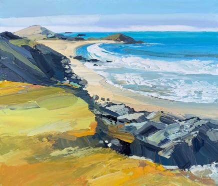 Sarah Carvell, Llanddwyn, Foaming Sea
