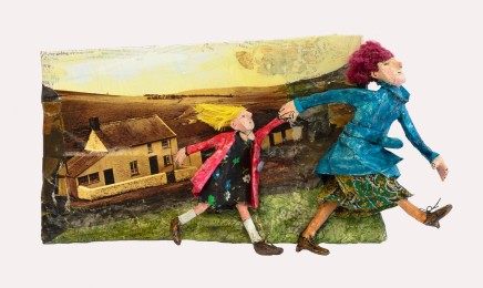 Luned Rhys Parri, Mam a Pheltyn Leibio Gwybedog / Mother and Child past Gwybedog