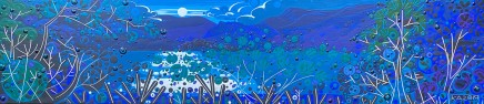Katie Allen, Moonlight, Nantlle Lake