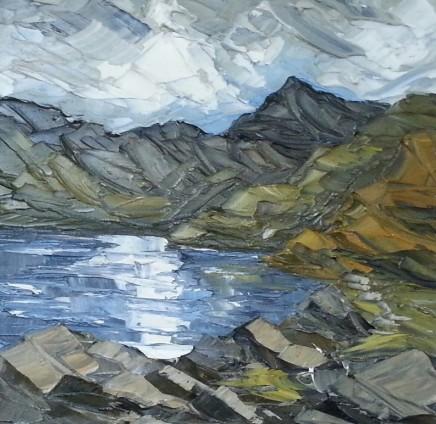 Martin Llewellyn, Reflections across Llyn Llydaw