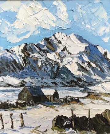 Martin Llewellyn, Winter, Y Garn