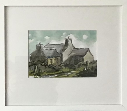 Martin Llewellyn, Farm Buildings - Study