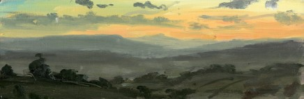 Matthew Wood, The Brecon Beacons from Clee Hill