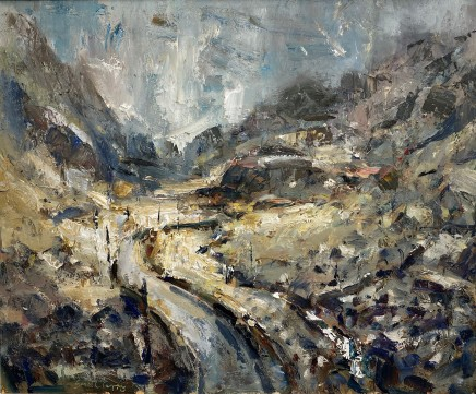 Gareth Parry, Haul ar ôl Glaw, Nant Peris I / Sun after Rain, Nant Peris I