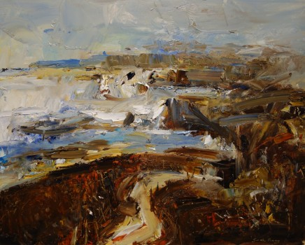 Gareth Parry, Coastal Path, Llŷn Pennisula, October / Llwybyr yr Arfordir, Llŷn, mis Hydref