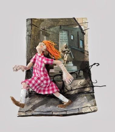 Luned Rhys Parri, Geneth yn Rhedeg / Young Girl Running