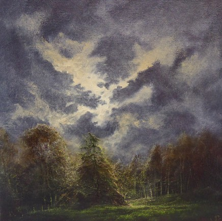 Gerald Dewsbury, Down the Track by Moonlight