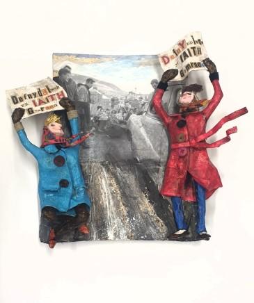 Luned Rhys Parri, Protest yn y Gaeaf / Winter Protest
