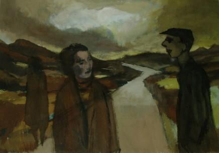 John Elwyn, Conversation above the Mines, 1952