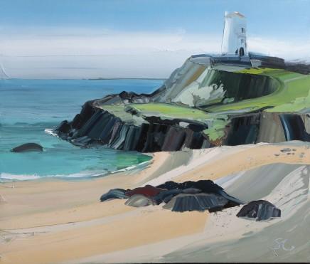 Sarah Carvell, The Beach Below Tŵr Mawr