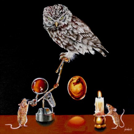 Jane Ford, The Ancient Art of Candling