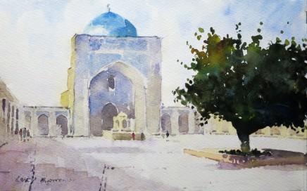 David Grosvenor, Madrasa, Bukhara, Uzbekistan
