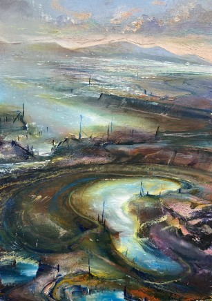Iwan Gwyn Parry, Estuary Pool, Harlech Sands