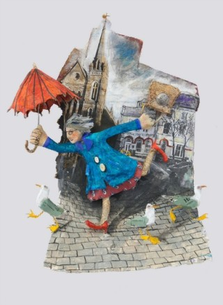 Luned Rhys Parri, Ambarel Goch a Sgidiau Coch / Red Umbrella and Red Shoes
