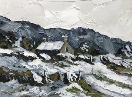 Martin Llewellyn, Snowfall, North Wales I