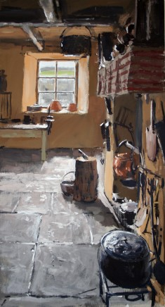 Matthew Wood, Kitchen Fireplace and Window