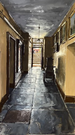 Matthew Wood, Powys Castle - Servants Corridor