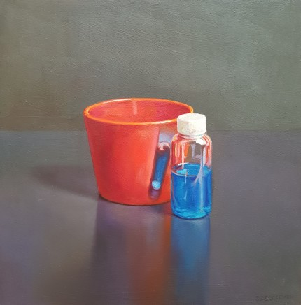 James Guy Eccleston, Red Pot and Blue