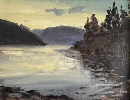 Matthew Wood, Lake Vyrnwy - Dusk Study