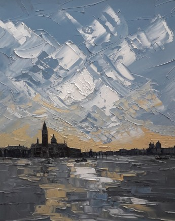 Martin Llewellyn, Sunset, Venice