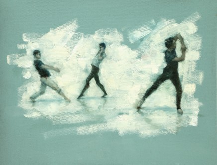 Carl Chapple, 'Divided We Stand' - Joshua Feist, Oliver Wilkinson-Smith & Miguel Fernandes (Ballet Cymru Rehearsal 176)