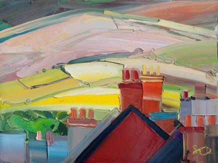 Sarah Carvell, Brightening Land and Chimneys