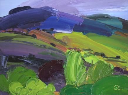 Sarah Carvell, Rainwashed Landscape