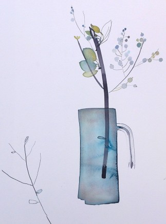 Susan Kane, Grey Jug with Berries