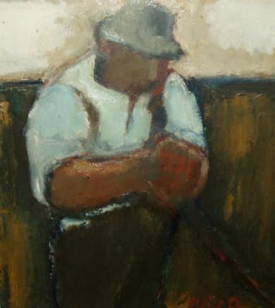 Will Roberts, Farmer Stephens Resting, 1973
