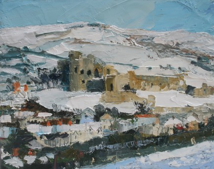 Sarah Carvell, Denbigh Castle, December