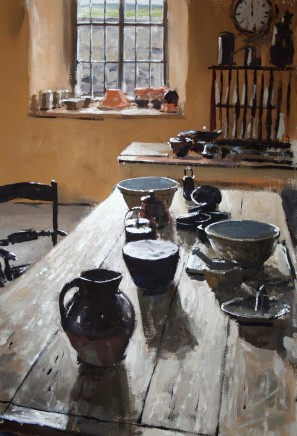 Matthew Wood, Kitchen with Table