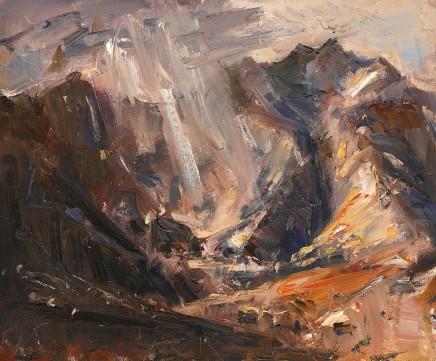 Gareth Parry, Flach o Haul, Dyffryn Ogwen / Sun Splash, Ogwen Valley