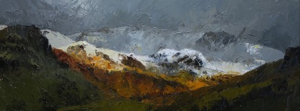 David Grosvenor, The Glyders from Nant Gwynant