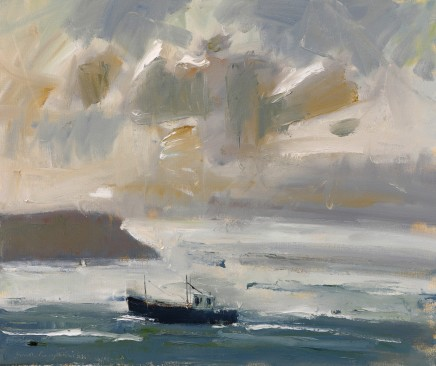 Gareth Parry, Cysgod Cwmwl, Cwch Bysgota, Llŷn / Cloud Shadow, Fishing Boat, Llyn