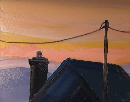 Sarah Carvell, Telegraph Wires, Dawn